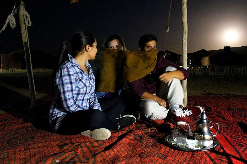 Chá de menta, deserto de Zagora