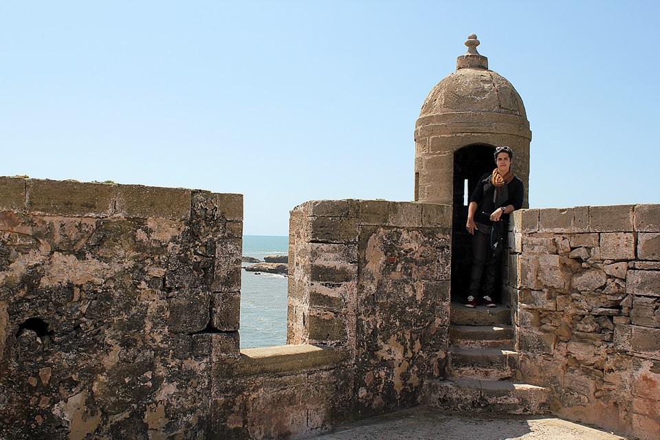 Torre do forte de Essaouira