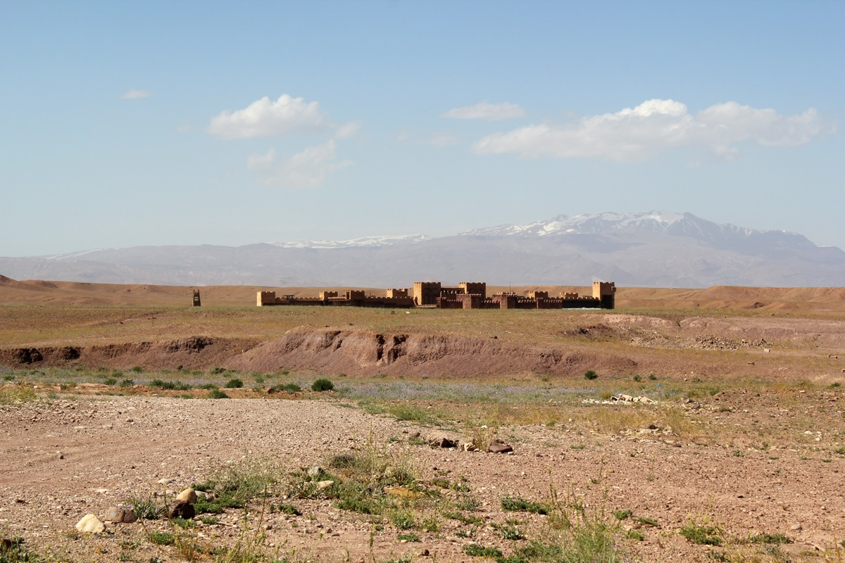 Set de filmagem da série Game of Thrones no Marrocos.