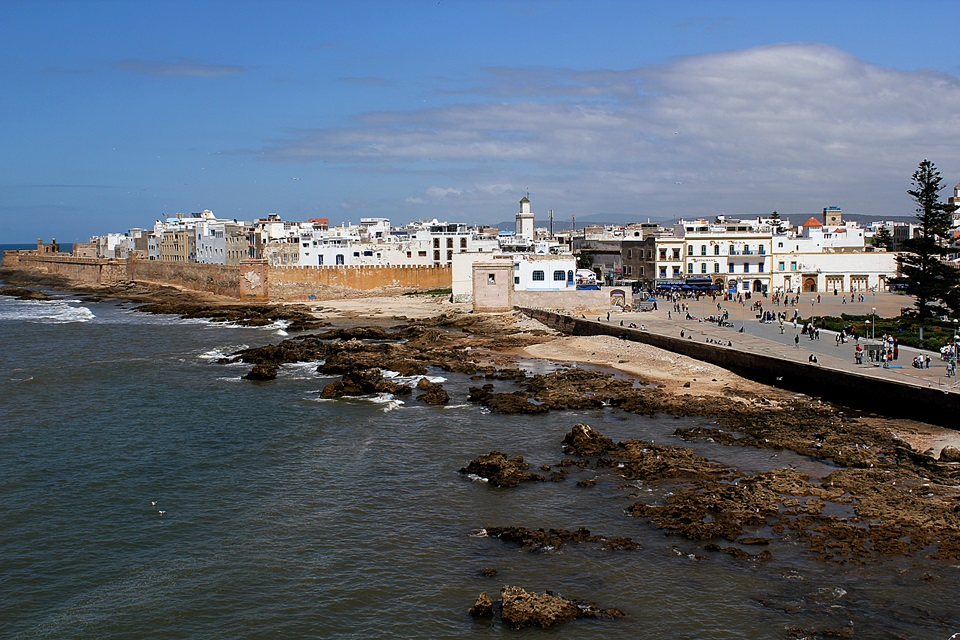Vista da medina de Essaouira.