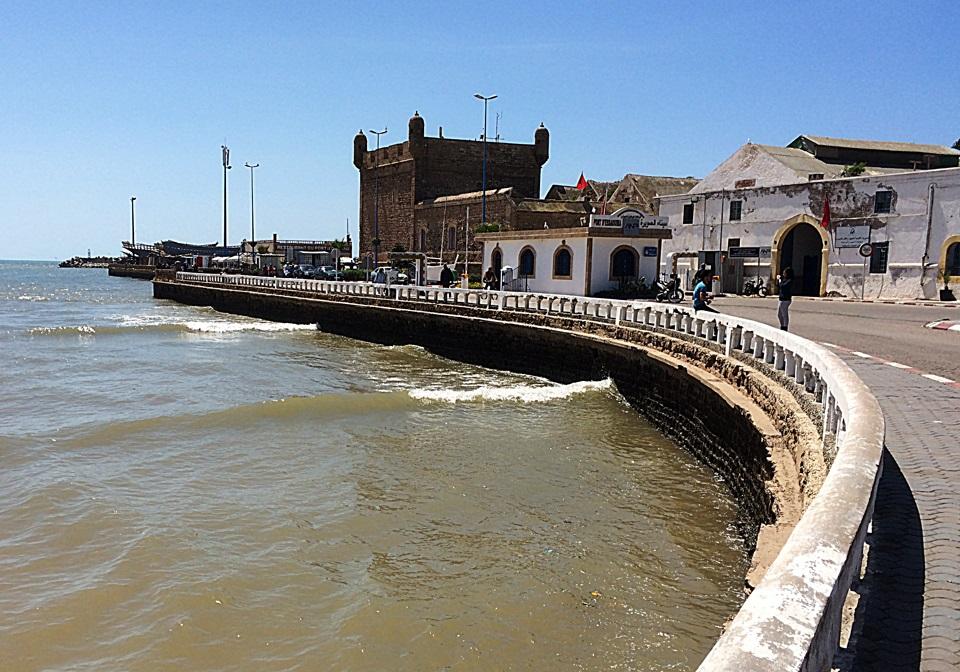 Vista do porto de Essaouira