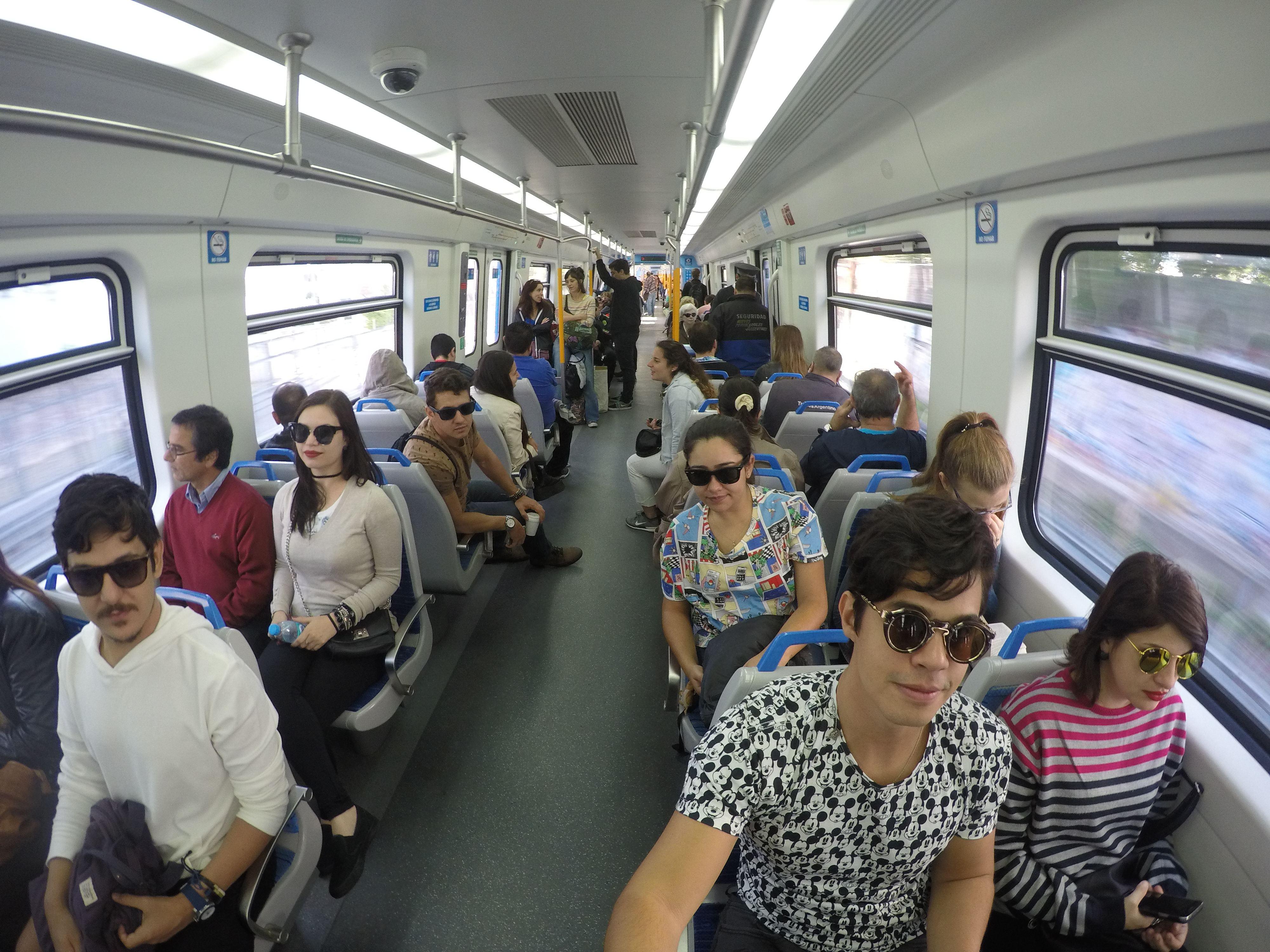 Trem para Delta Del Tigre