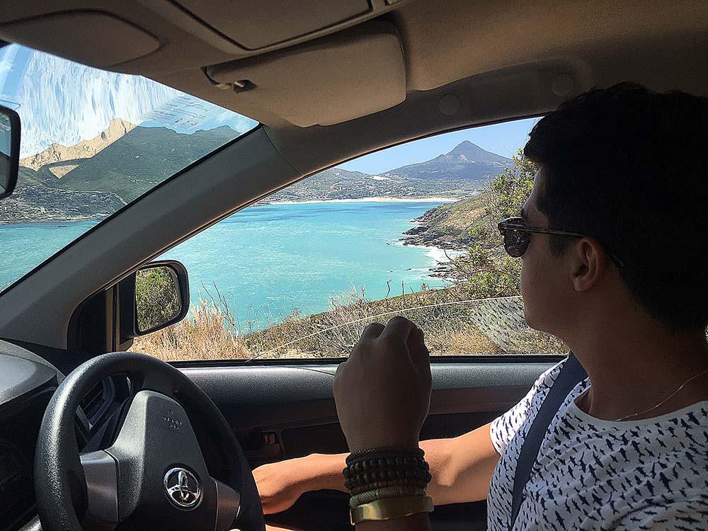 Como é dirigir na mão inglesa na África do Sul