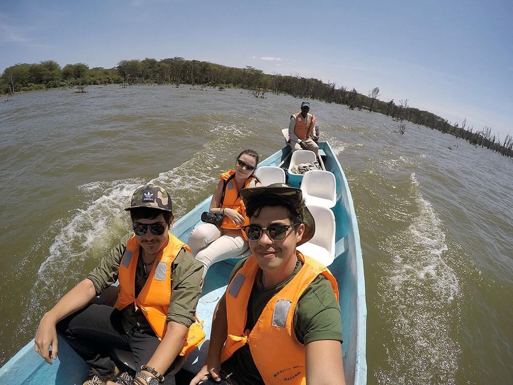 Boat Safari no Quênia