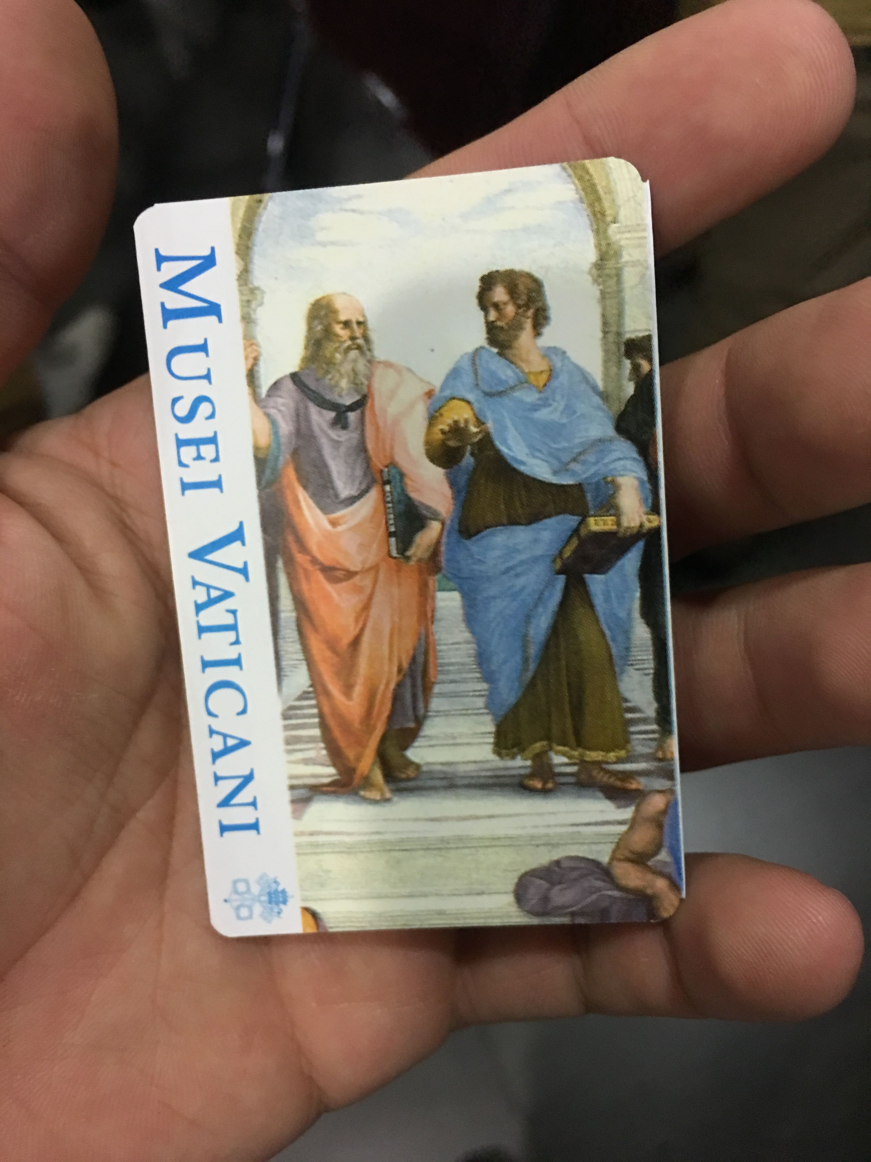 Ingresso do Museu do Vaticano