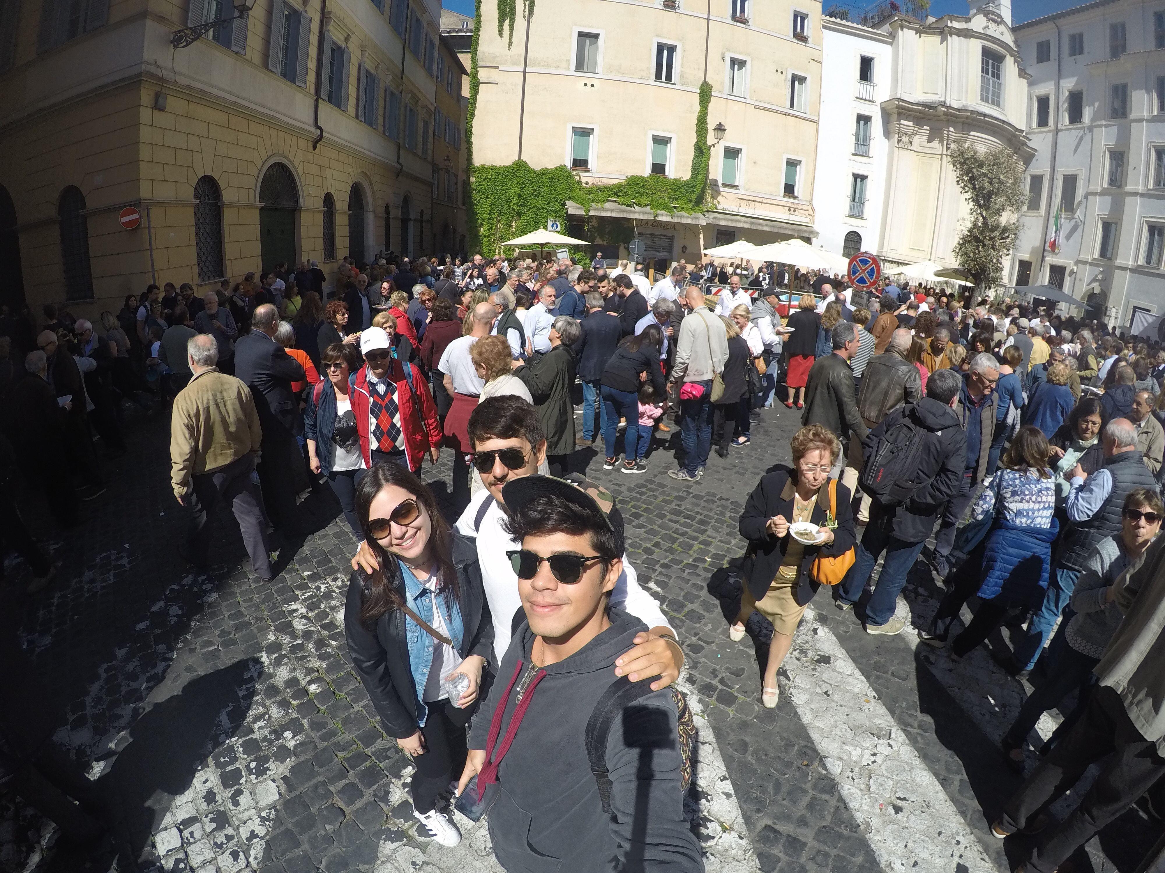 Páscoa dos Açougueiros no domingo de Ramos.
