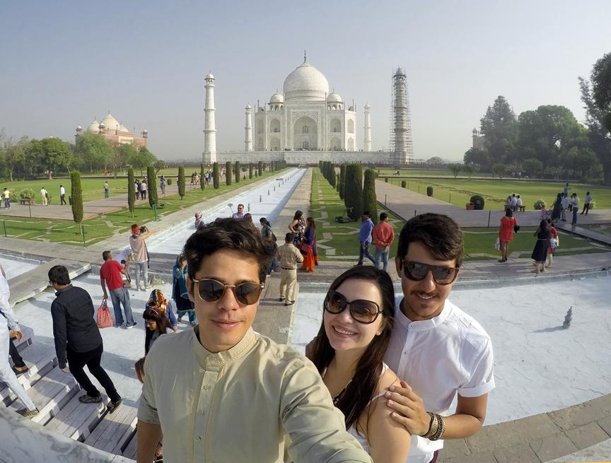 Nós e o Taj Mahal