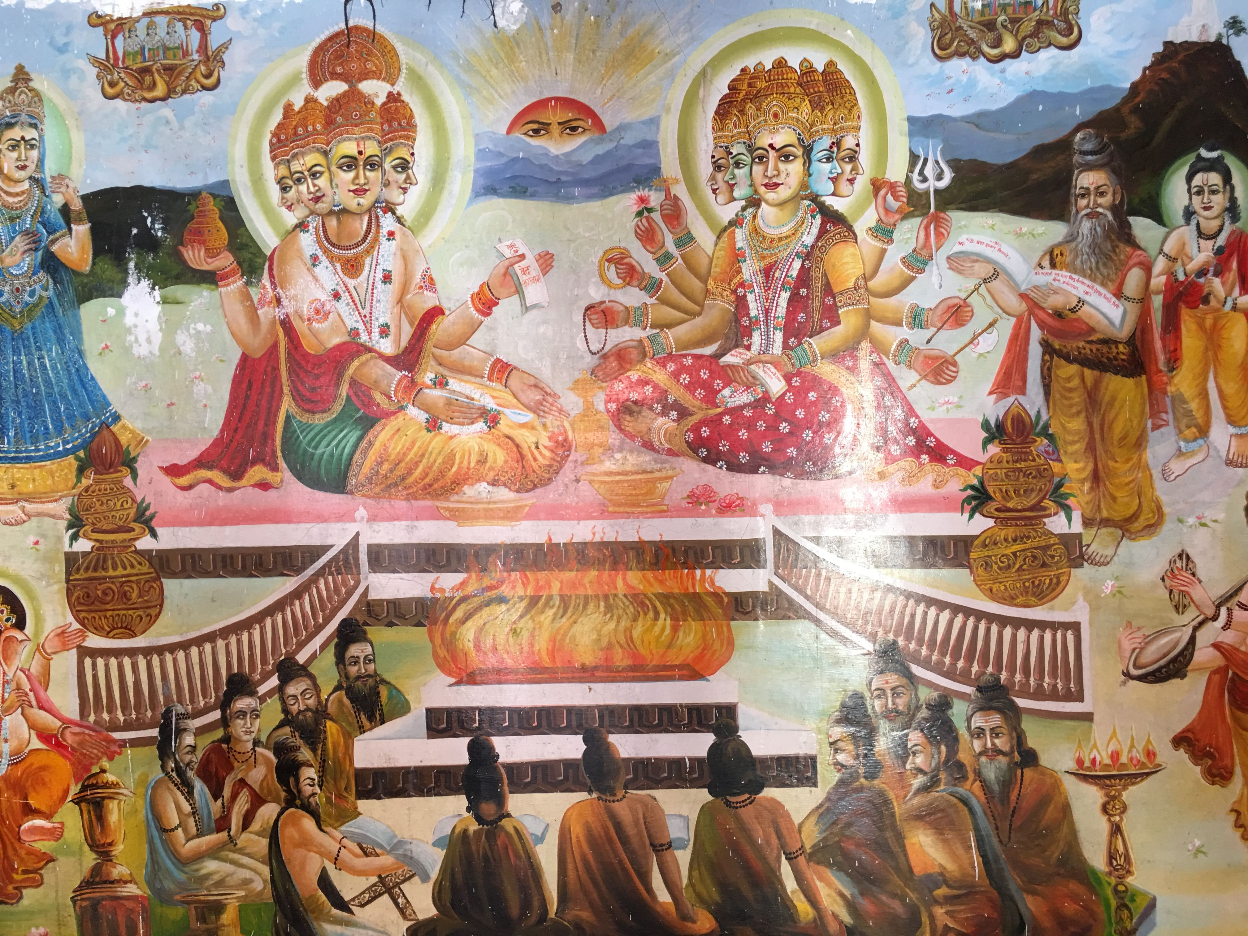 Templo de Brahma em Pushkar