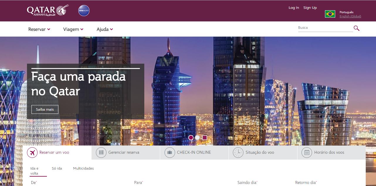 Qatar Airways oferece parada gratuita em Doha