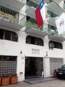 Fachada do Hotel Windsor Suite em Santiago do Chile - Não é caro viajar