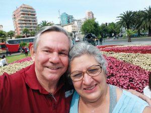 Meus pais em Viña del Mar, Chile