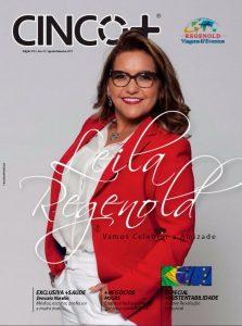 Capa de revista Cinco +Agosto de 2017