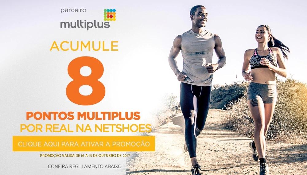 Promoção: Ganhe 8 pontos Multiplus a cada real gasto