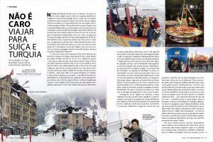 Não é caro viajar para a Suíça e Turquia - Revista Cinco+