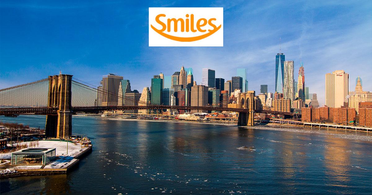 Estados Unidos a partir de 35.000 o trecho na Smiles