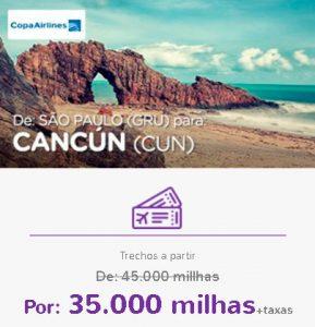 Promoção Smiles Superdestinos - São Paulo para Cancun