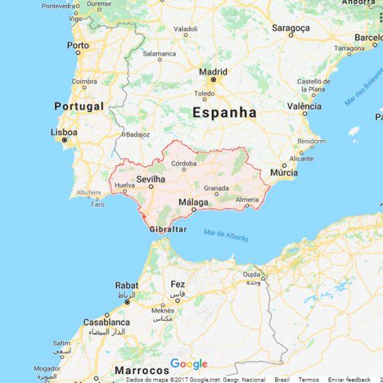 O flamenco é tipico da região de Andaluzia.