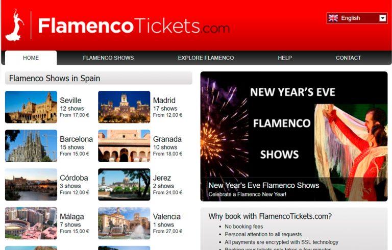 Faça sua reserva de Show de Flamenco no FlamencoTickets.com