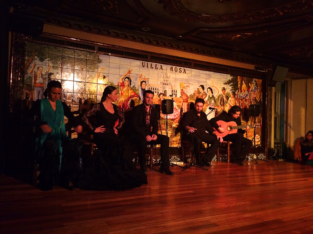 Show de Flamenco em Madri