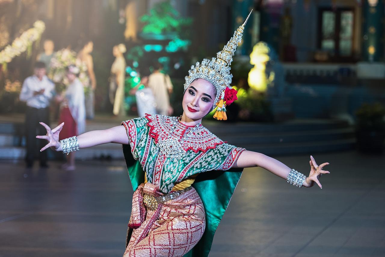 Dança cultural Tailandesa