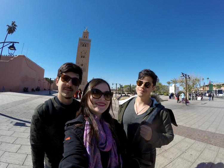 Foto da Mesquita de Marrakech