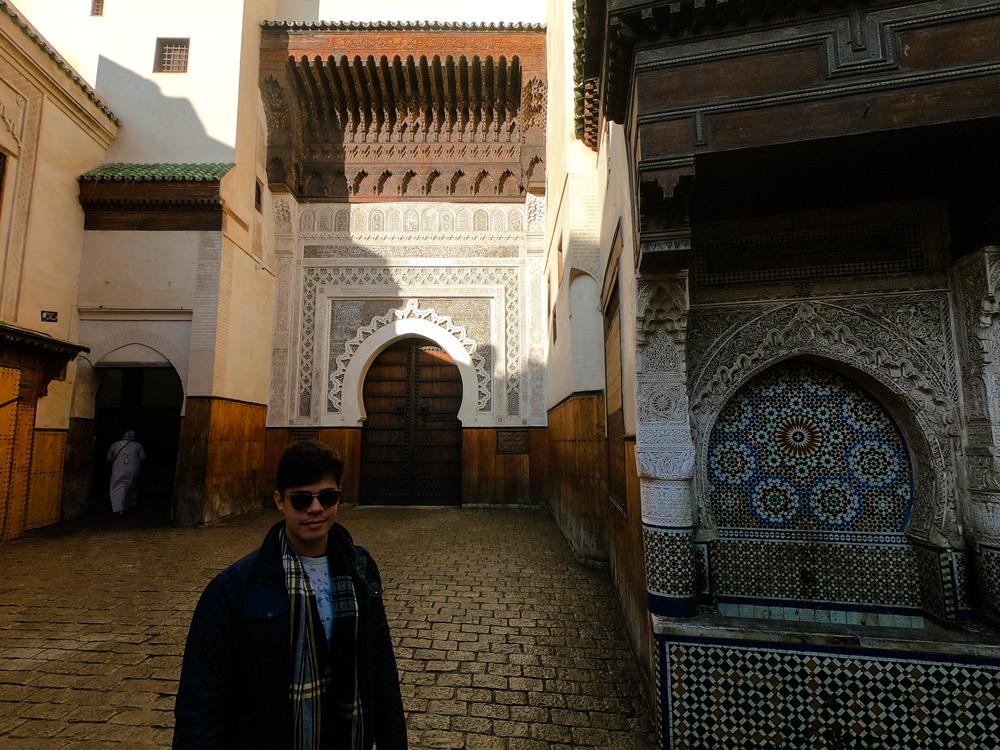 Um dos portões de transição da medina de Fez