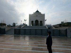 Ike admirando o mausoléu