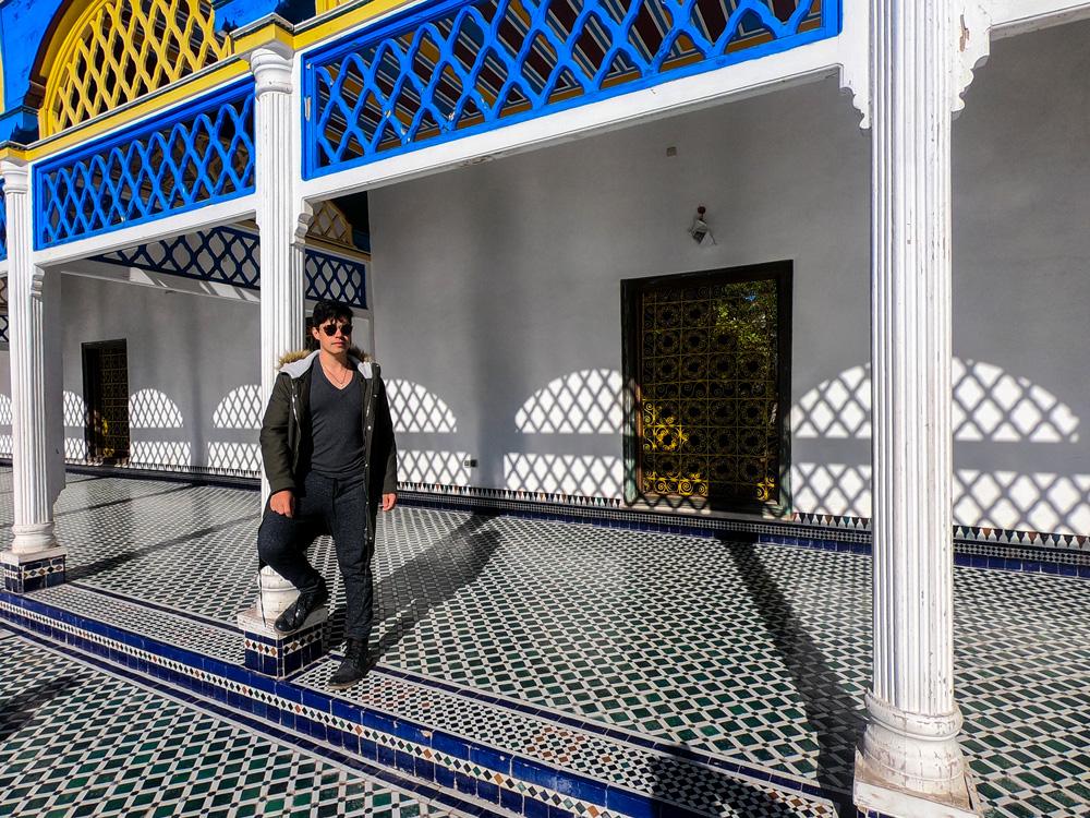 Palácio Bahia em Marrakech, Marrocos.