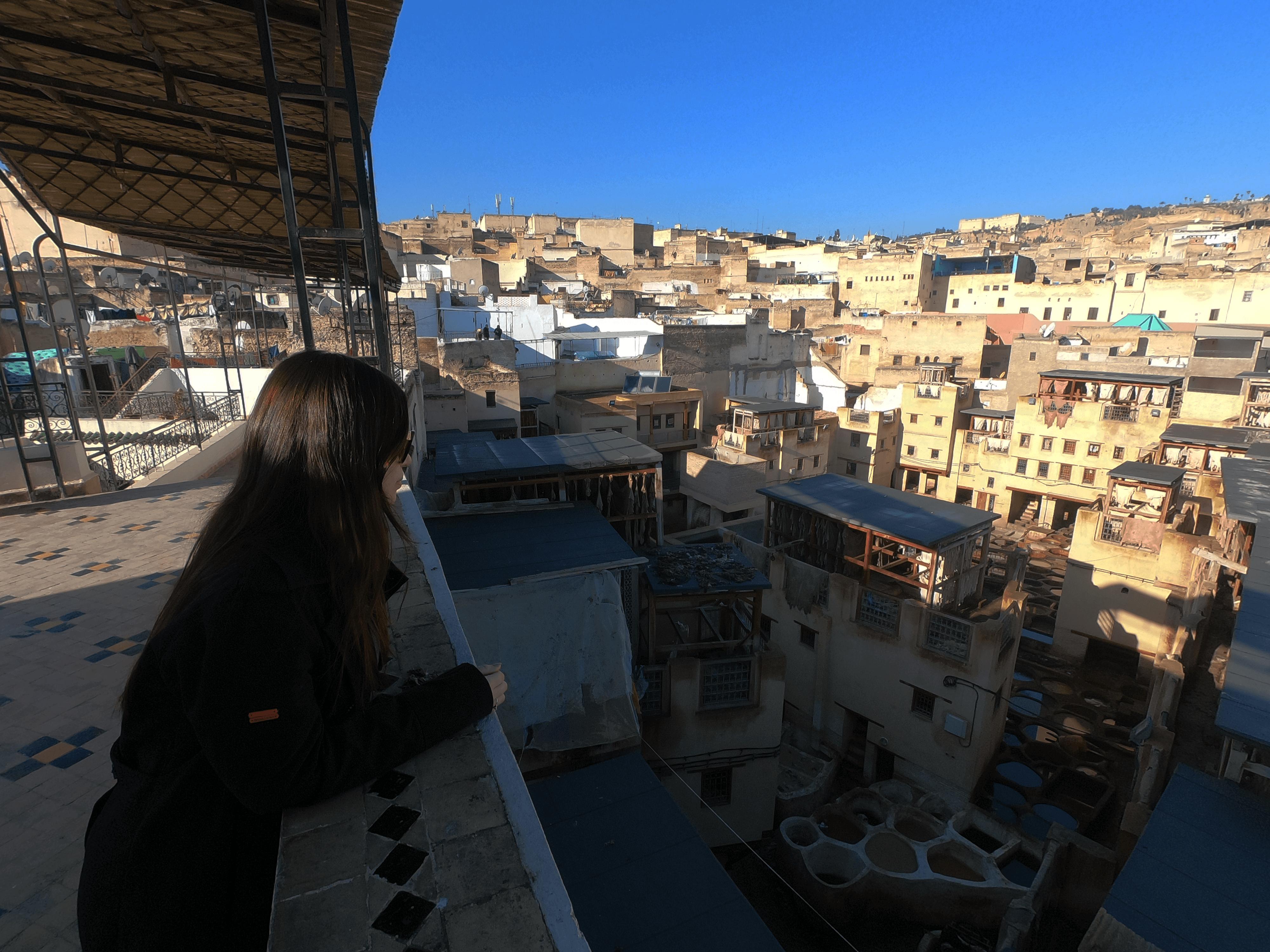 Curtume de Fès, Marrocos