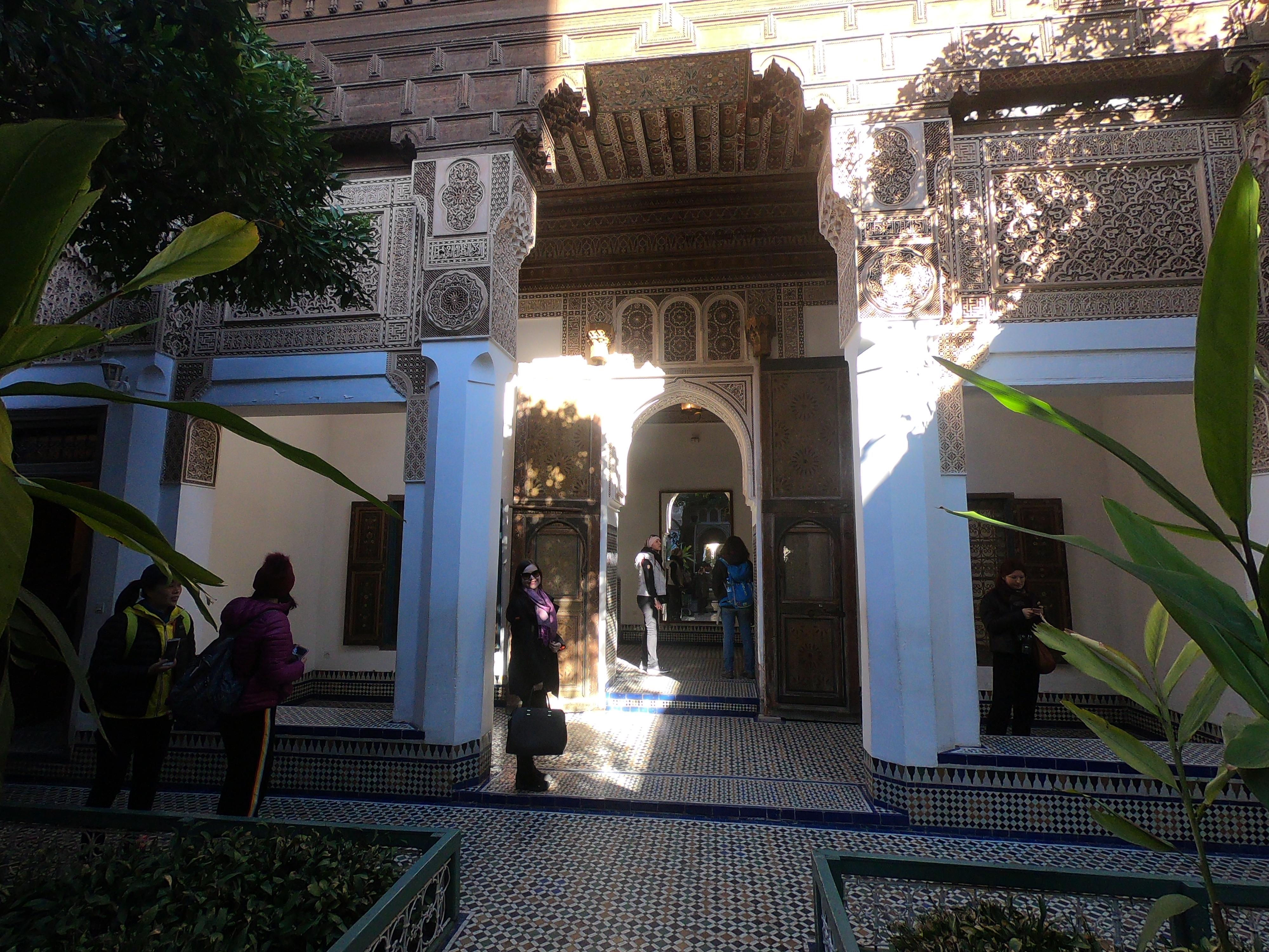 Palais, bahia em Marrakesh.