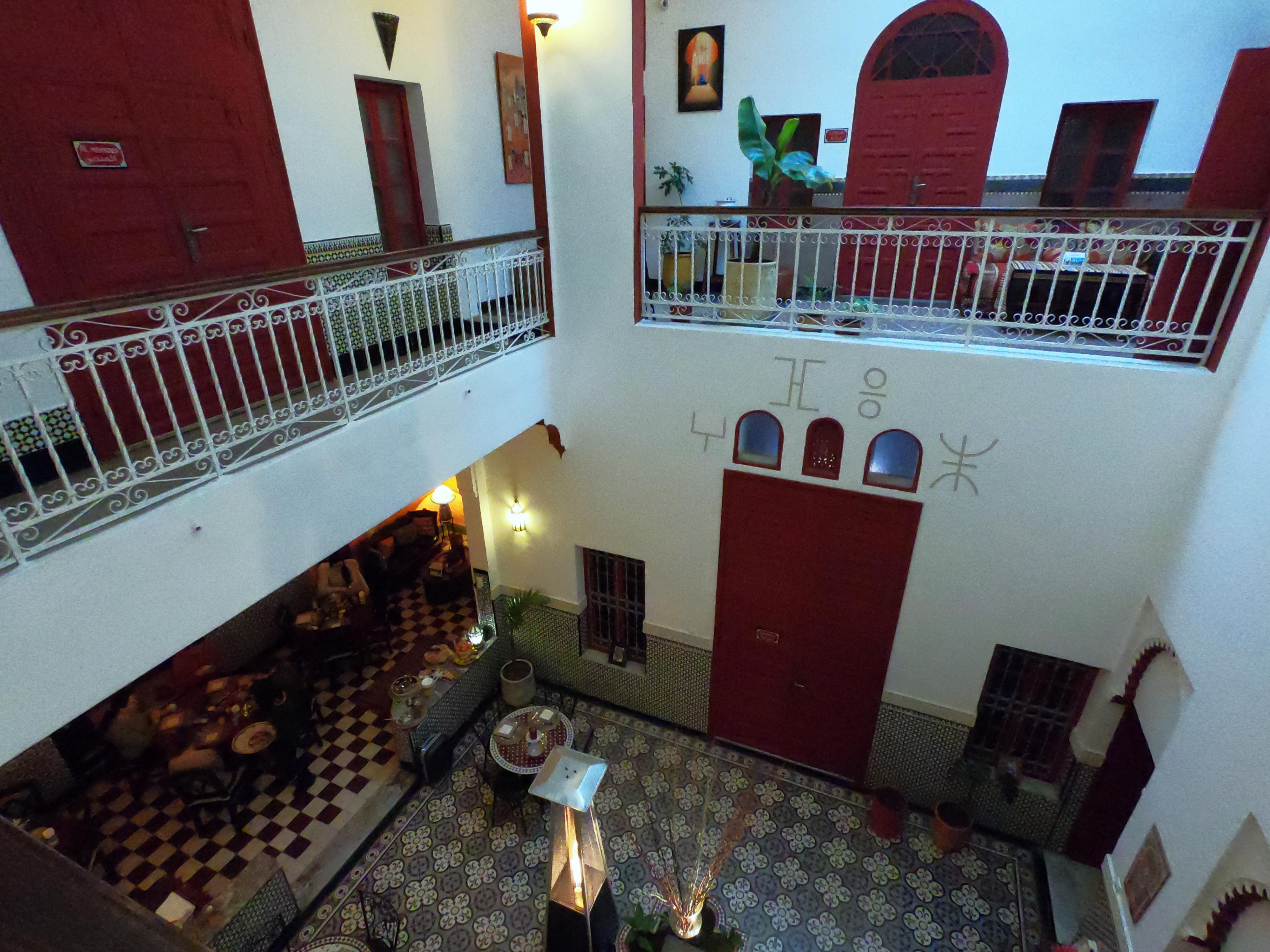 Fotos do nosso Riad em Rabat