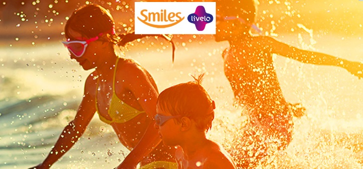 Ganhe até 100% de milhas bônus transferindo seus pontos Livelo para Smiles