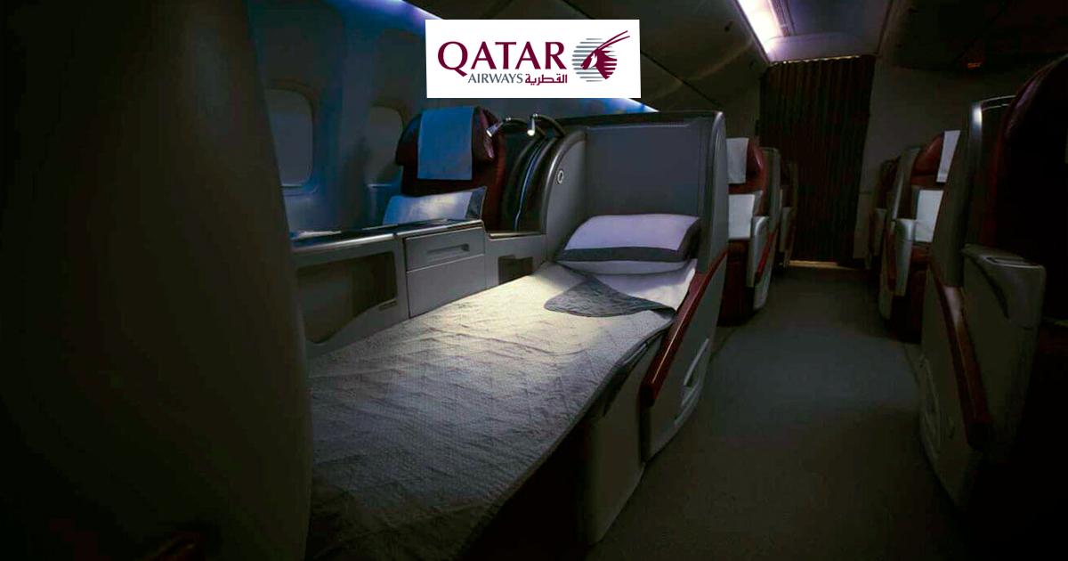 Como é voar na classe executiva da Qatar Airways no 777-300ER – Frankfurt para Doha