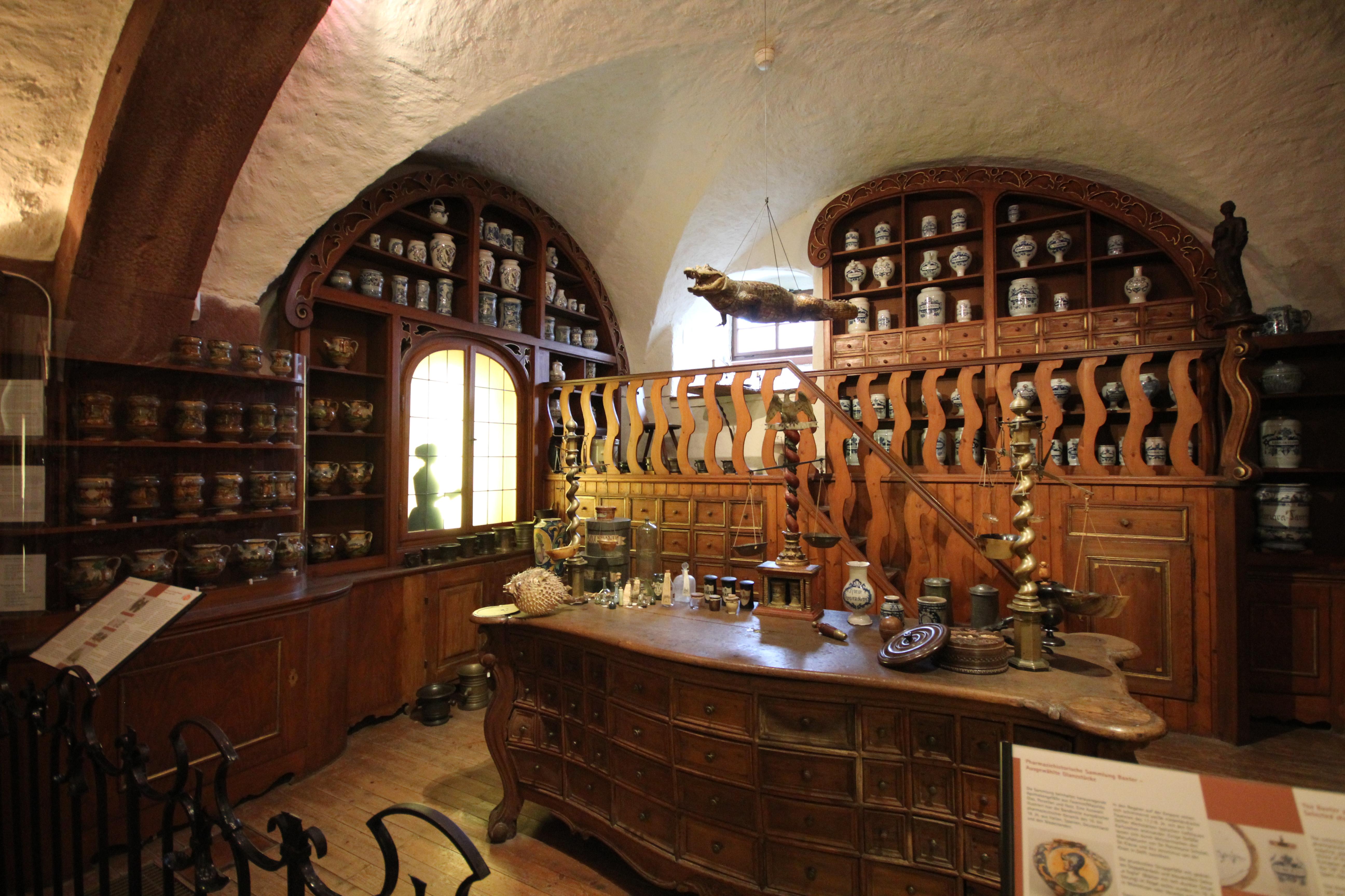 nao-e-caro-viajar-alemanha-heidelberg-farmacia-museu