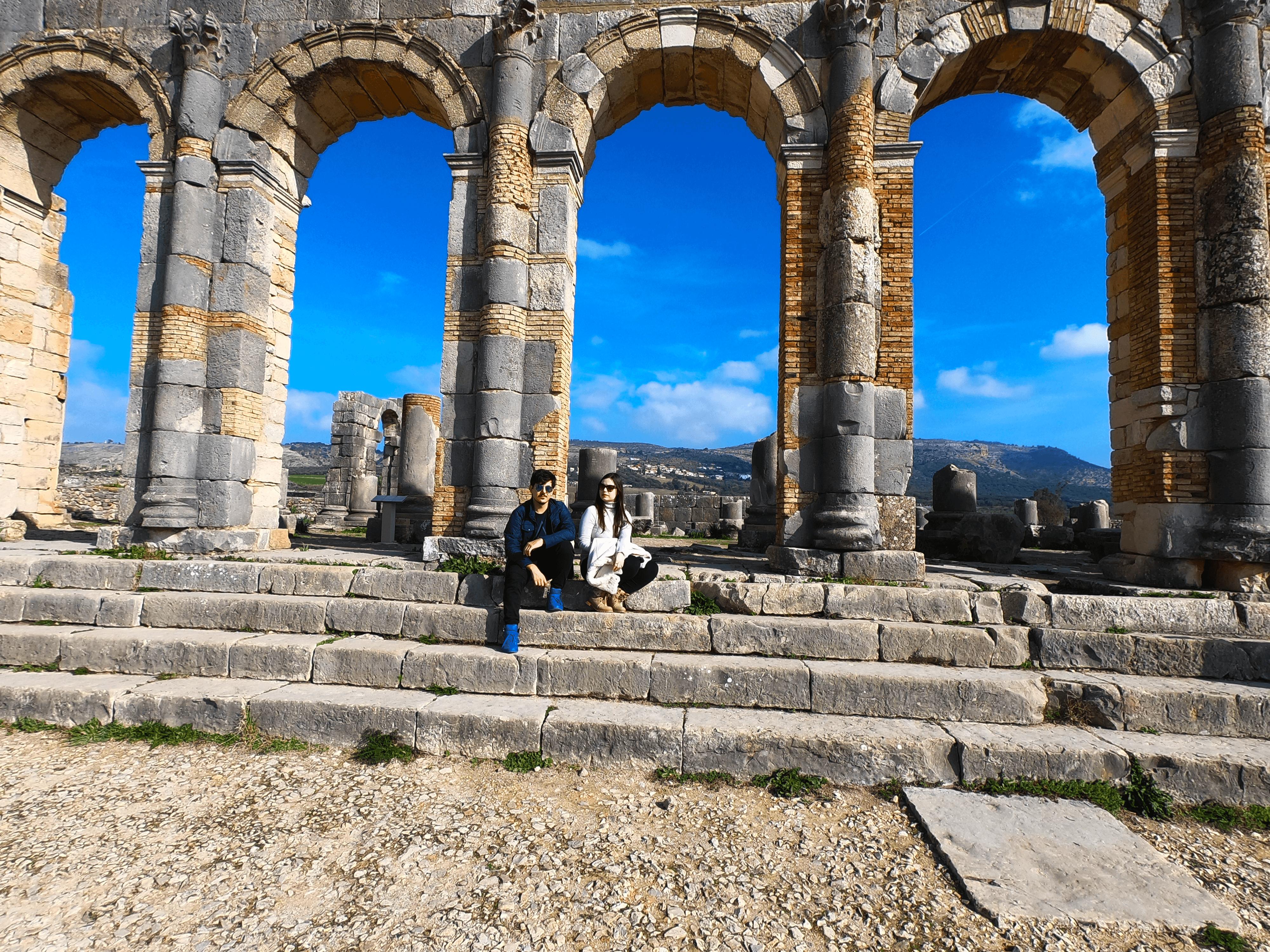 nao-e-caro-viajar-cidade-antiga-romana-marrocos