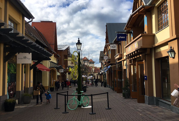 Vale a pena ir ao outlet Wertheim Village?