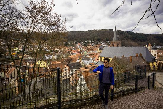 Subindo para Burg Wertheim
