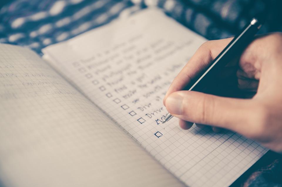 Checklist: O que você não pode deixar de levar em uma viagem!