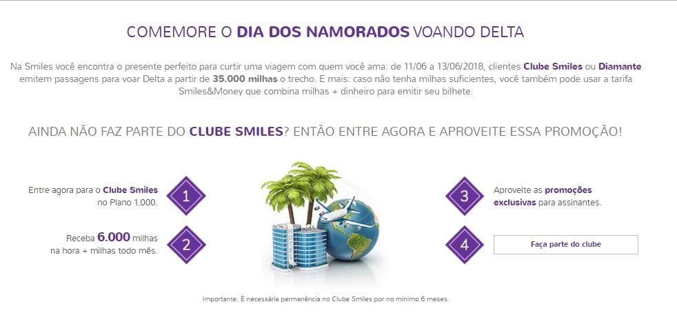 Faça parte do Clube Smiles