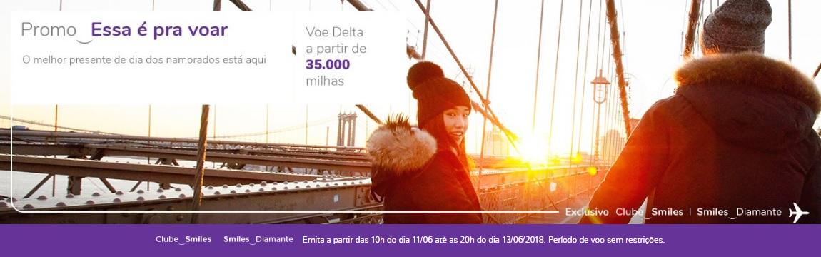 Promoção Smiles 35.000 pontos o trecho para os Estados Unidos
