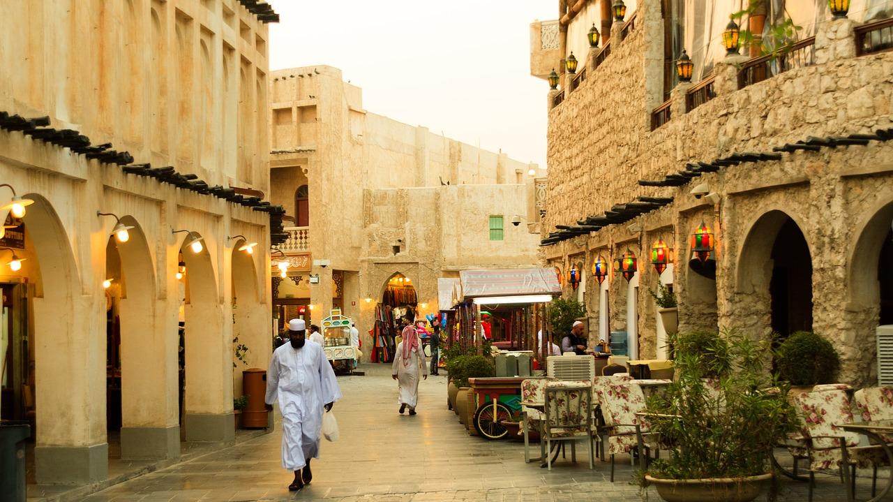 Souq Waqif em Doha