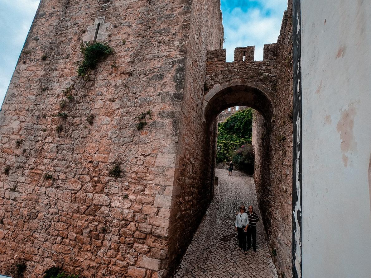 Entrada Castelo de Óbidos