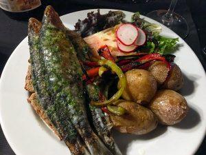 Sardinhas com batatas, uma delícia