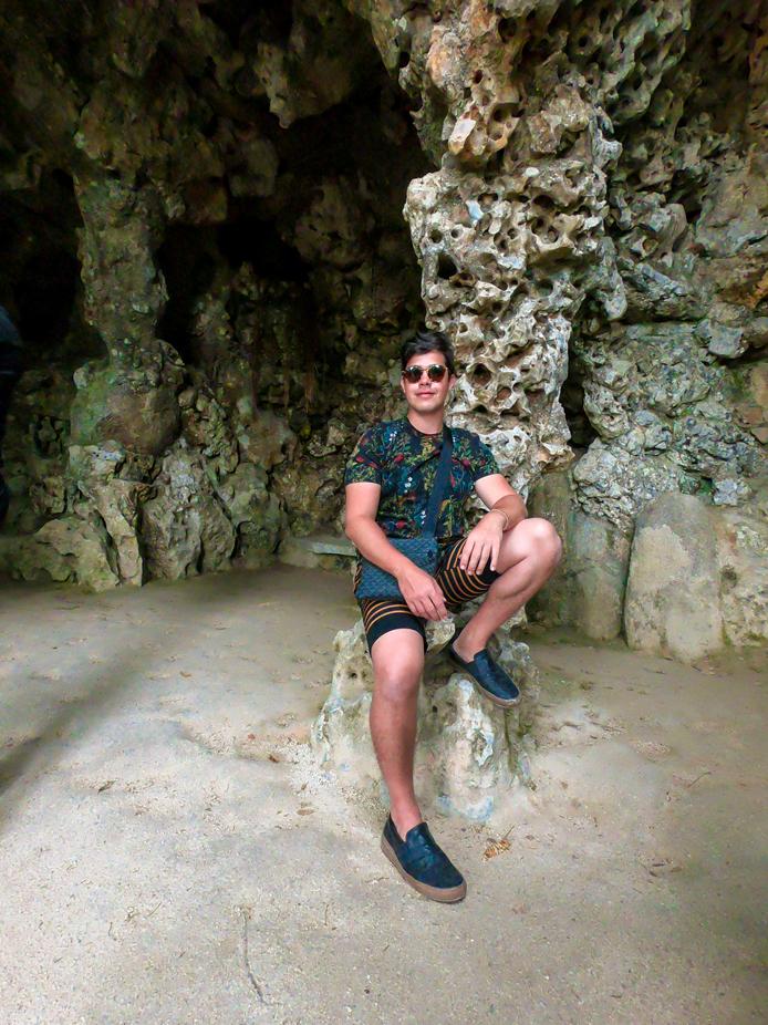 Gruta da Quinta da Regaleira em Sintra