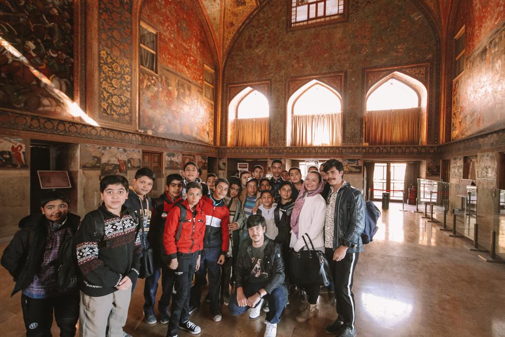 Roteiro em Isfahan