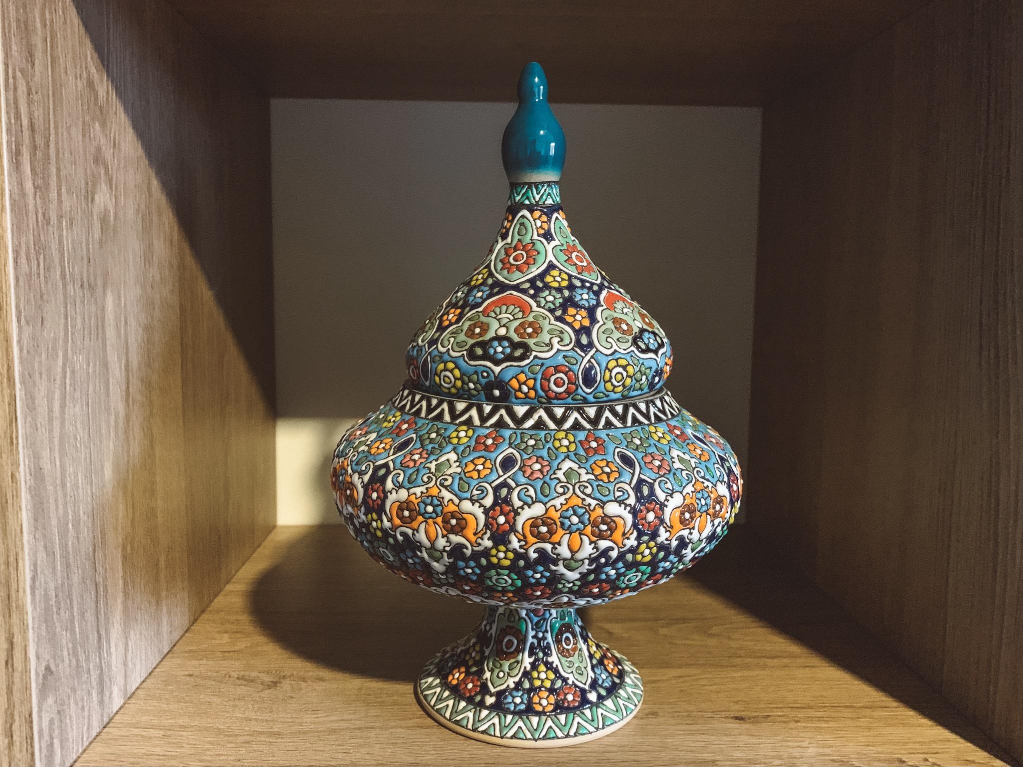 O que comprar no Irã:  Bomboniere de 18 dólares