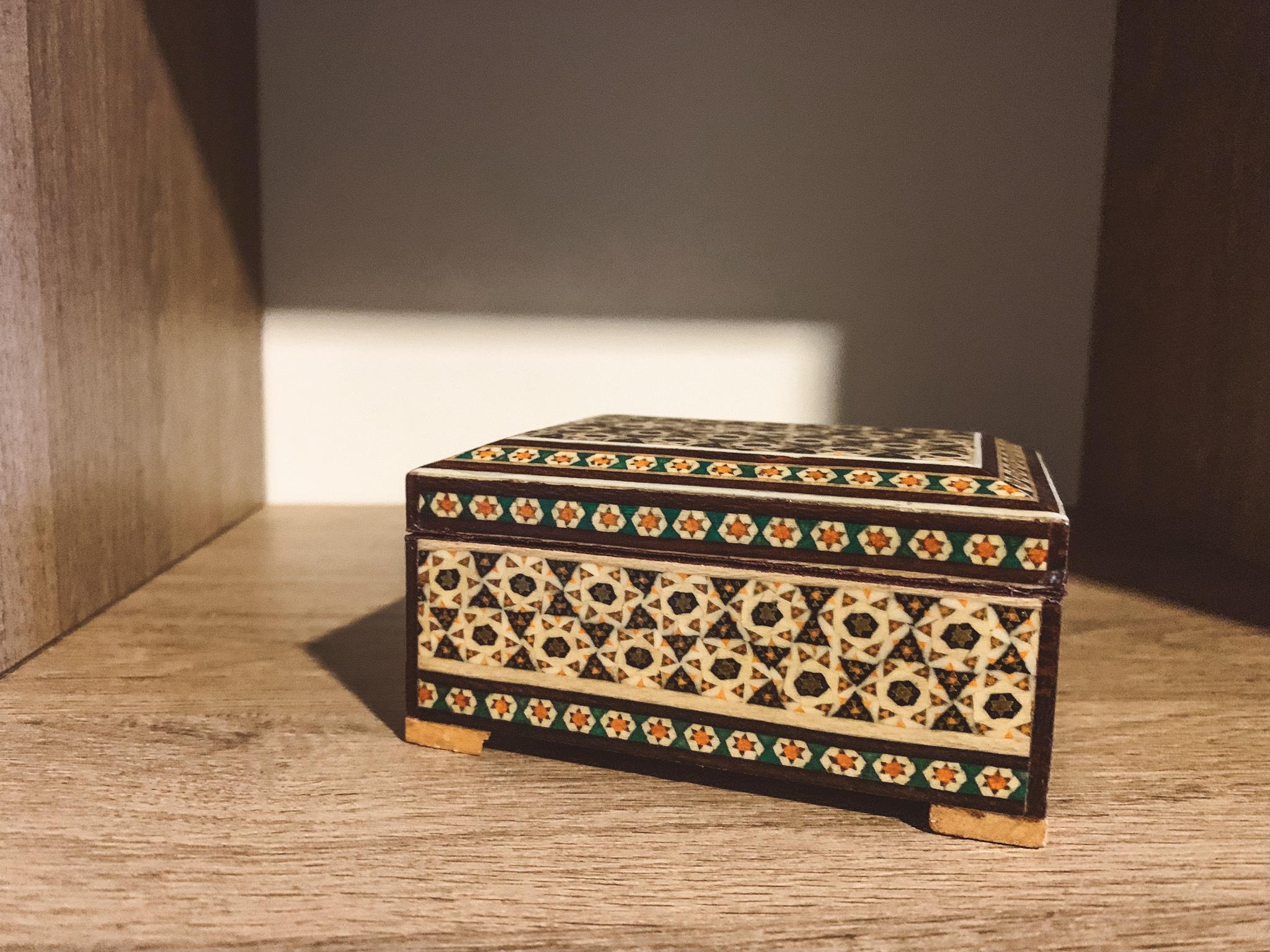 O que comprar no Irã: Caixa de jóias de 5,80 dólares