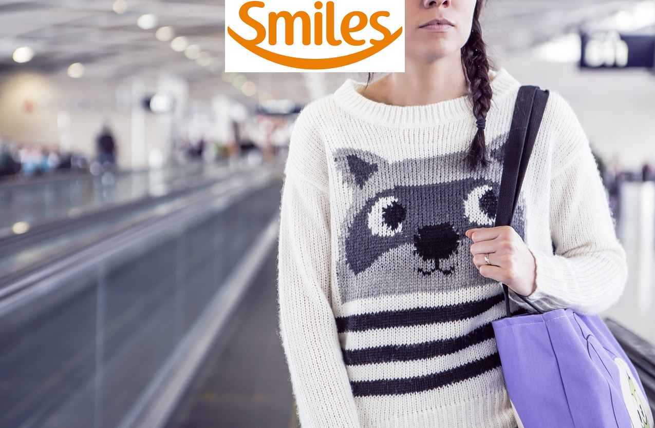Ganhe até 70% de  milhas bônus Smiles na transferência de pontos do seu cartão de crédito!