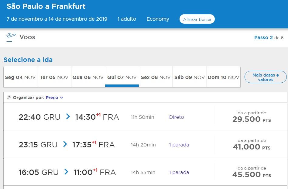 Promoção para Frankfurt partindo de São Paulo/SP