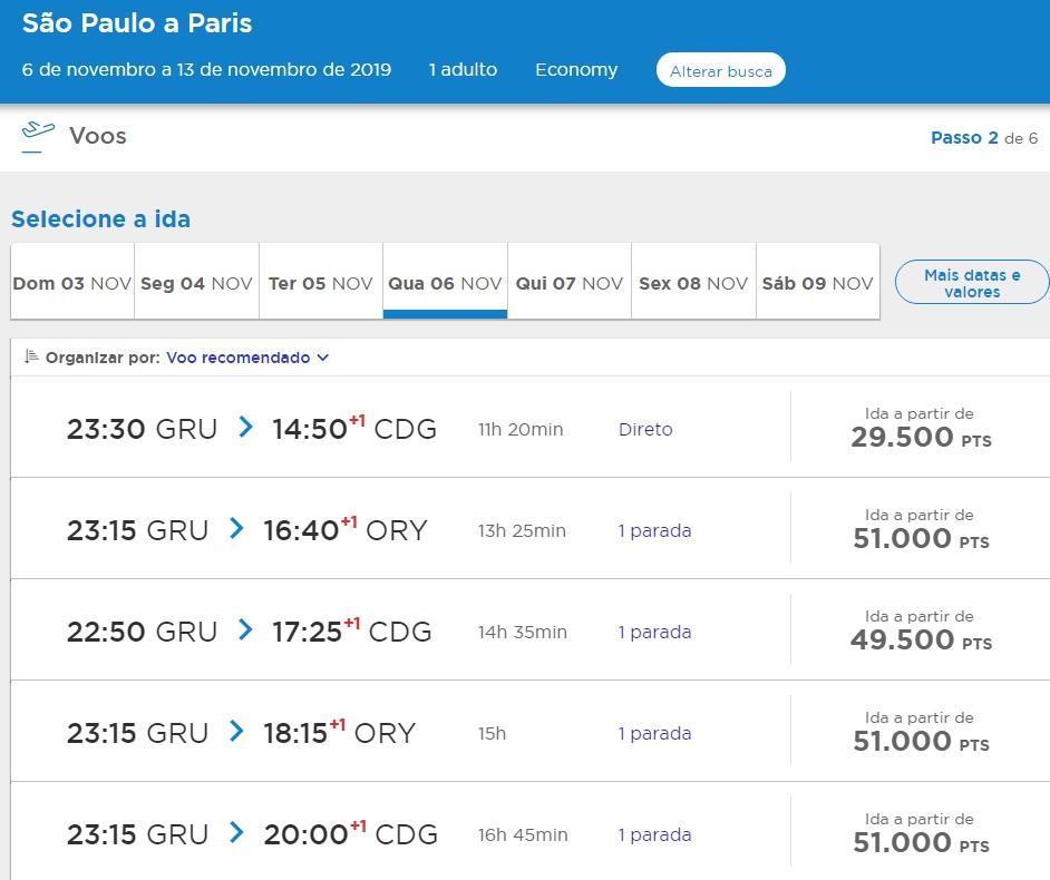 Promoção para Paris partindo de São Paulo/SP
